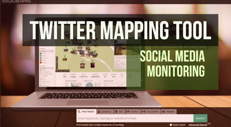 Social Bearing - Twitter Mapping Tool