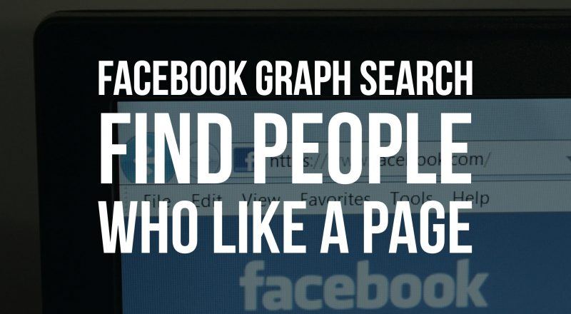 Who Likes a Facebook Page