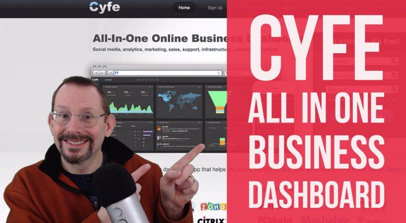 Cyfe - all in one business dashboard