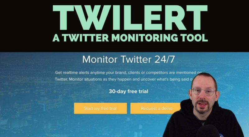 Twilert for Twitter