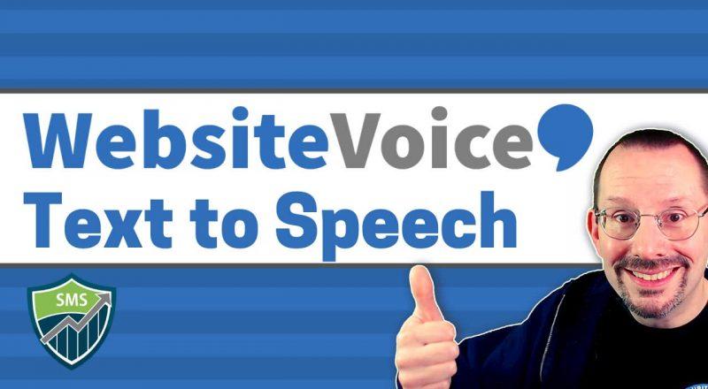 WebsiteVoice Text to Speech