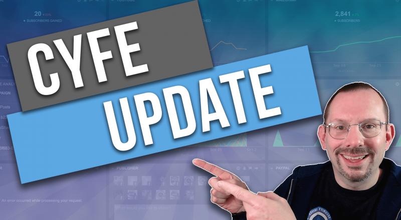 Cyfe All in one business dashboard update