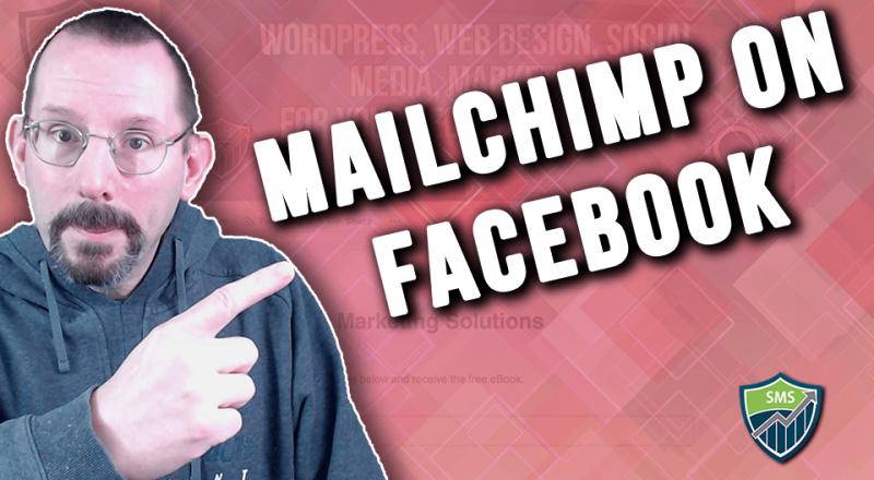 Mailchimp Form on Facebook