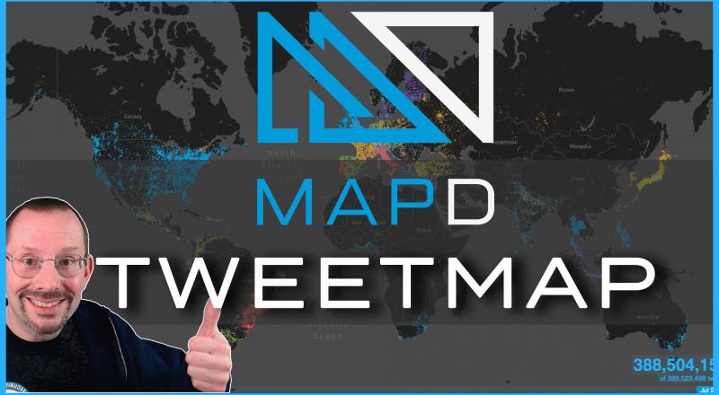 MapD Tweetmap