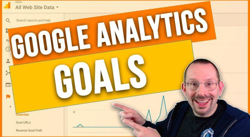 Set Goals in Google Analytics